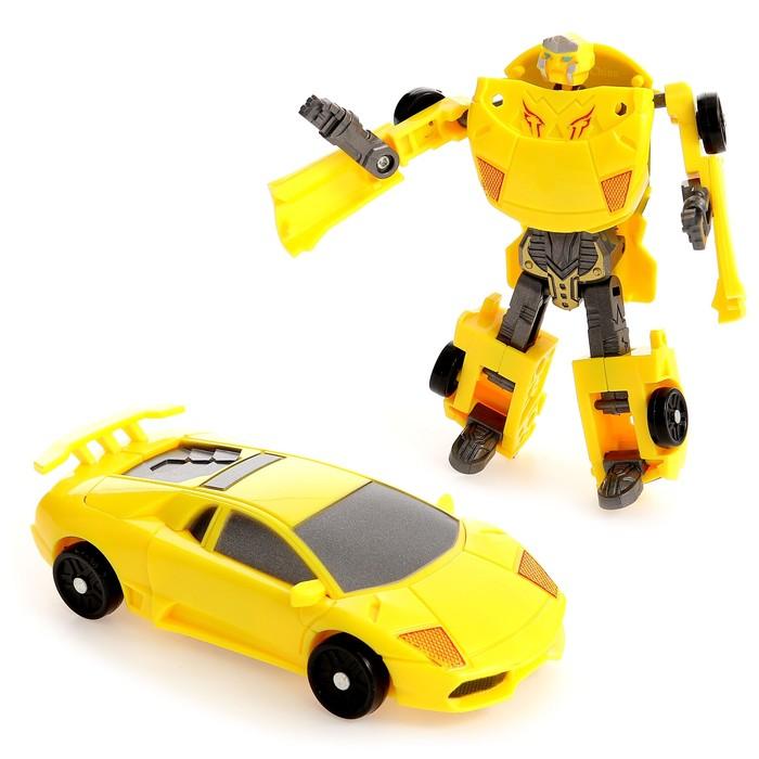 Робот Автобот, трансформируется, цвета МИКС