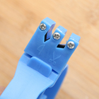 Точилка для ножей «Верная помощь», 15×6×3 см, с ручкой, цвет МИКС - Фото 2