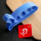Точилка для ножей «Верная помощь», 15×6×3 см, с ручкой, цвет МИКС - Фото 3