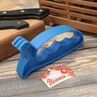 Точилка для ножей «Верная помощь», 15×6×3 см, с ручкой, цвет МИКС - Фото 5