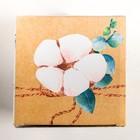 Коробка складная With love, 16 × 16 × 16 см - Фото 3