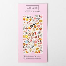Наклейки для ногтей GoodFood, 10 × 16,5 см