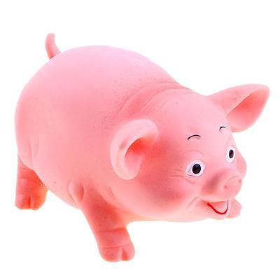 Резиновая игрушка «Свинка» - Фото 1