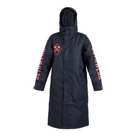 Пальто Jethwear JW PitCoat с утеплителем, размер L, унисекс, черный-оранжевый Ош