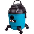 Пылесос Bort BSS-1218, 1200 Вт, всасывание 240 Вт, сухая и влажная уборка, 18 л, синий