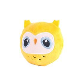 Мягкая игрушка «Мячик-Сова», 7 см