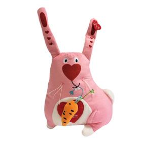 Мягкая игрушка «Зайка люблю», 20 см