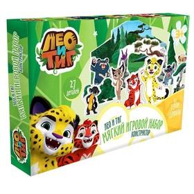 Мягкий игровой набор Лео и Тиг, 7 героев, 27 элементов Ош