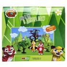 Мягкий игровой набор Лео и Тиг, 2 героя, 7,5 см, с аксессуарами - Фото 4