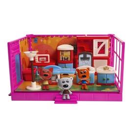 Игровой набор МИ-МИ-МИШКИ «Кеша, Тучка и Лисичка», кухня, 12 деталей интерьера