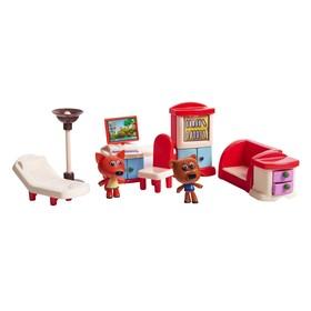 Игровой набор МИ-МИ-МИШКИ «Кеша и Лисичка», столовая, 8 деталей интерьера