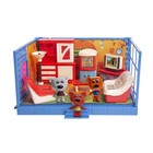 Игровой набор МИ-МИ-МИШКИ «Кеша, Тучка и Лисичка», гостиная, 12 деталей интерьера