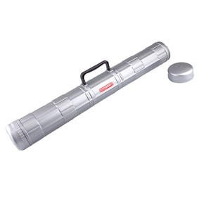 Тубус А1 диаметр 90 мм, длина 680 мм, Стамм, с ручкой, серый Ош