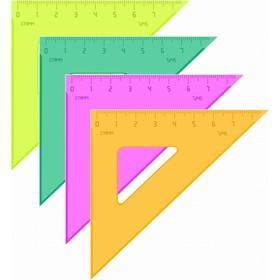 Треугольник 7 см 45* «Стамм» NEON, микс