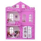 Домик для кукол «Дом Элизабет» с мебелью, цвет бело-розовый - Фото 2