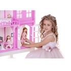 Домик для кукол «Дом Элизабет» с мебелью, цвет бело-розовый - Фото 4