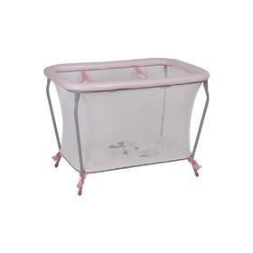 Манеж детский Polini kids Disney baby Classic, «Минни Маус» Фея, цвет розовый Ош