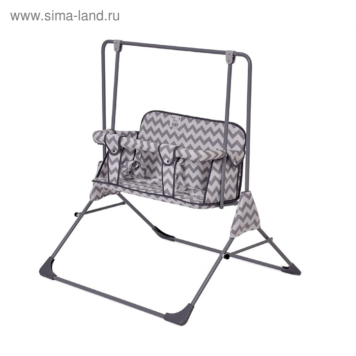 Качели напольные  для двоих Фея «Малыш», цвет серый