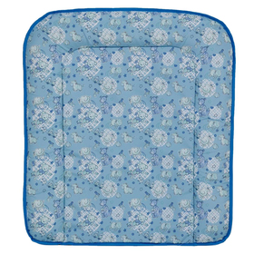Доска пеленальная Фея мягкая, цвет голубой