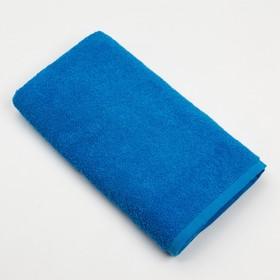 купить Полотенце махровое Экономь и Я, размер 50х90 см, цвет небо