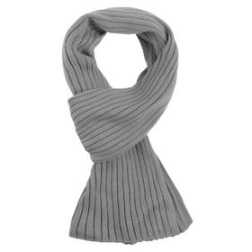Шарф Stripes, цвет серый