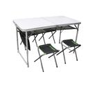 Набор стол туристический и 4 стула, Atemi ATS-400