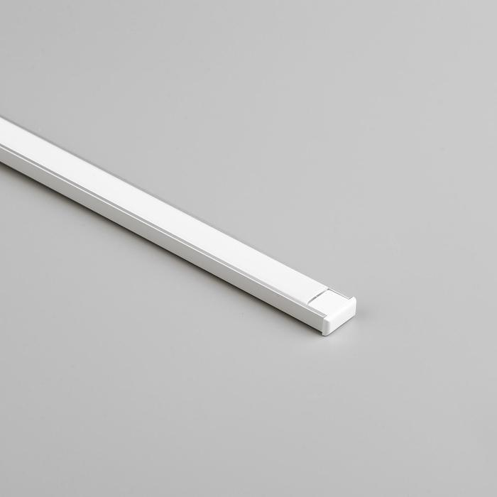 Алюминиевый профиль General, 16х7 мм, накладной, 2 м, матовый рассеиватель, аксессуары