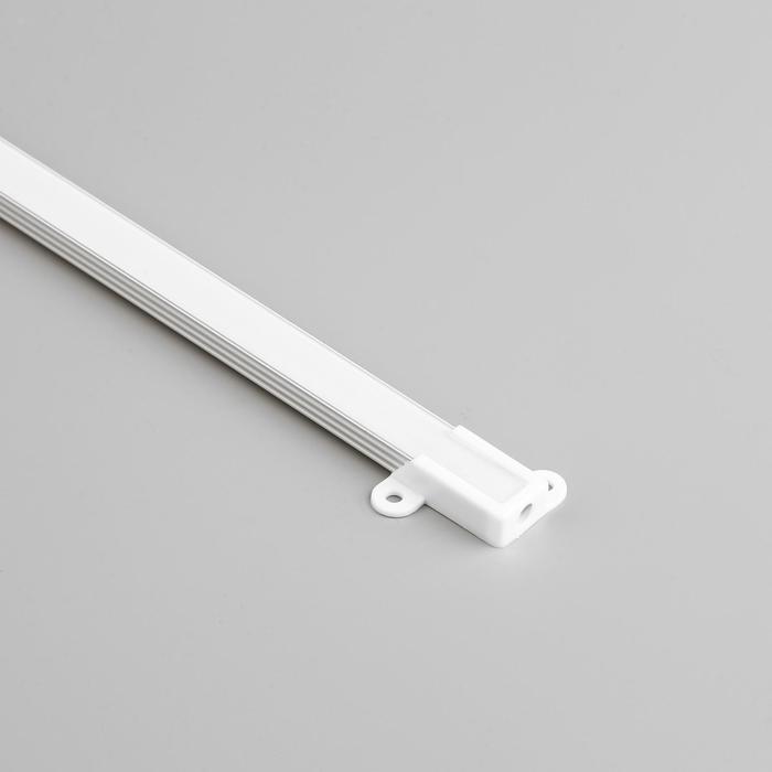 Алюминиевый профиль General, 14x7 мм, накладной, 2 м, матовый рассеиватель, аксессуары