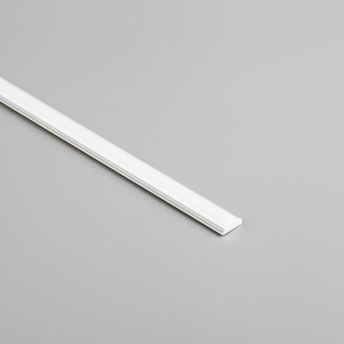 Алюминиевый профиль General, 17.5x6 мм, гибкий, накладной, 2 м, матовый рассеиват., аксесс.