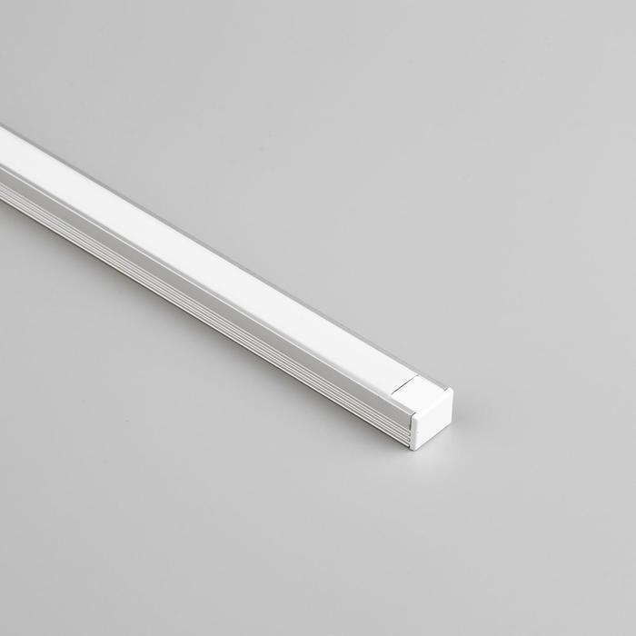 Алюминиевый профиль General, 16х12 мм, накладной, 2 м, матовый рассеиватель, аксессуары