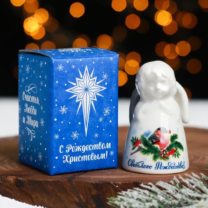 Колокольчик в форме ангела «Снегирь!»