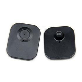Датчик радиочастотный Mini Square + гвоздик, цвет чёрный