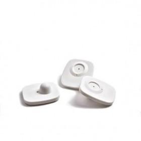 Датчик радиочастотный Mini Square + гвоздик, цвет белый Ош