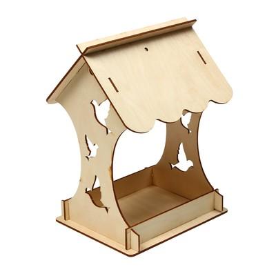 Кормушка для птиц «Птички», 15 × 16 × 24 см, Greengo - Фото 1