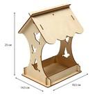 Кормушка для птиц «Птички», 15 × 16 × 24 см, Greengo - Фото 2