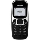 """Мобильный телефон Digma Linx A105N 2G, 32Мб, 1.44"""", черный"""