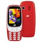 """Мобильный телефон ARK U243, 32Мб, 2Sim, 2.4"""", 0.08Mpix, microSD, красный"""