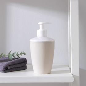 Дозатор для жидкого мыла «Стиль», 400 мл, цвет МИКС Ош