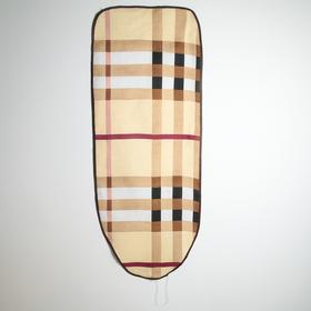 Чехол для гладильной доски Доляна, 130×50 см, полиэстер + подкладка войлок Ош