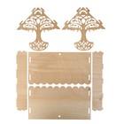 Кормушка для птиц «Узорное дерево», 23 × 21 × 15 см, Greengo - Фото 4