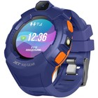 "Смарт-часы Jet Kid Gear, 50мм, 1.44"", сине-оранжевый"