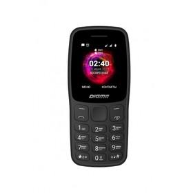 """Мобильный телефон Digma C170 Linx, 32Мб, 2Sim, 1.77"""", 0.08Mpix, microSD, черный"""