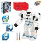 Робот-игрушка GRAVITONE, световые и звуковые эффекты, работает от батареек, русская озвучка, цвета МИКС - Фото 1