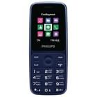 "Мобильный телефон Philips E125 Xenium, 2Sim, 1.77"", 0.1Mpix, microSD, синий"