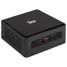 Неттоп IRU NUC 113 i3 8109U (3), 4Гб, SSD240Гб, Iris Graphics 655, черный, серебристый Ош
