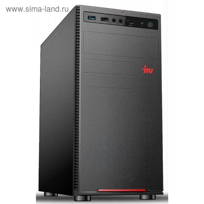 Компьютер IRU Office 312 MT PG G5400 (3.7), 4Гб, 500Гб 7.2кG 610, 400W, черный