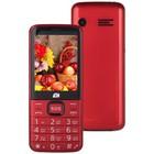 """Мобильный телефон ARK Power 4, 32Мб, 2Sim, 2.8"""", 0.3Mpix, microSD, красный"""