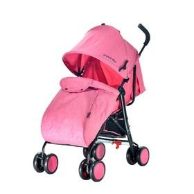 Коляска-трость Everflo Voyage E 850A, цвет pink Ош