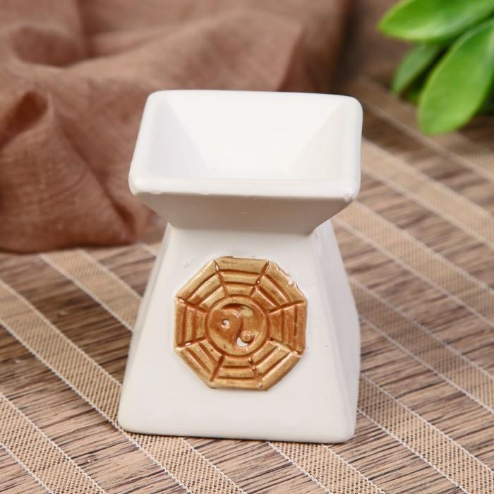 Аромалампа керамика Инь-Ян МИКС 7х6x6 см
