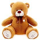 Мягкая игрушка «Мишка Бернард», цвет шоколадный, 80 см